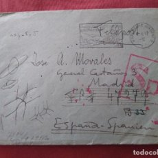 Postales: SOBRE CORREO ALEMÁN MATASELLOS CURIOSOS. FELDPOST.. 1941 DIVISIÓN AZUL. .. Lote 205808027