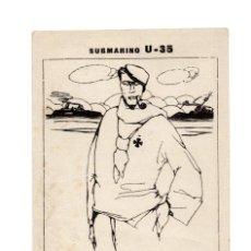 Postales: SUBMARINO U-35. DONDE SE ESCONDE LA TAN FAMOSA REINA DE LOS MARES. ADELANTE SI TIENES VERGÜENZA.. Lote 208098995