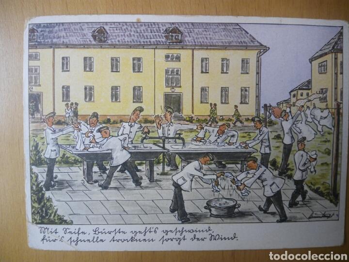 ALEMANIA NAZI 1942 FELDPOST WEHRMACHT POSTAL (Postales - Postales Temáticas - II Guerra Mundial y División Azul)