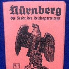 Postales: ESTUCHE CON 10 POSTALES STADT DER REICHSPARTEITAG NUREMBERG. Lote 210473917