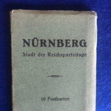 Postales: ESTUCHE CON 10 POSTALES STADT DER REICHSPARTEITAG NUREMBERG. Lote 210474000
