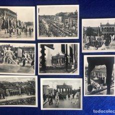 Postales: CONJUNTO DE 8 PEQUEÑAS FOTOPOSTALES BERLIN OLYMPIA 1936 SIN ESTUCHE. Lote 210474501