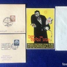 Postales: LOTE POSTAL DER EWIGE JUDE AUSSTELLUNG, EL JUDIO ETERNO. Lote 212362121