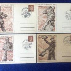 Postales: LOTE POSTAL TAG DER BRIEFMARKE 1942. Lote 212362883