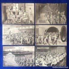 Postales: COLECCIÓN DE POSTALES ORIGINALES ALEMANAS DEL RAD REICHSARBEITSDIENST. Lote 212508856
