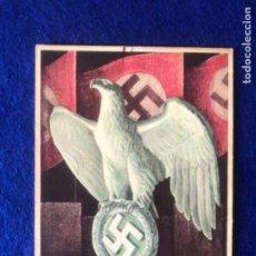 Postales: POSTAL ORIGINAL ALEMANA REICHSPARTEITAG NUREMBERG 1937. Lote 212537130
