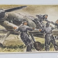 Postales: POSTAL PROPAGANDA NAZI ORIGINAL WEHRMACHT LUTWAFFE. Lote 212691298