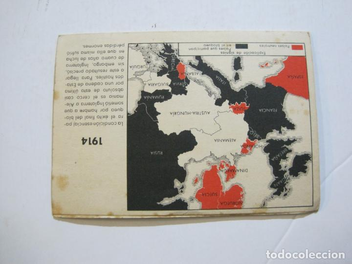 Postales: II GUERRA MUNDIAL-POSTAL DOBLE-MAPAS-VER FOTOS-(73.749) - Foto 3 - 216490266