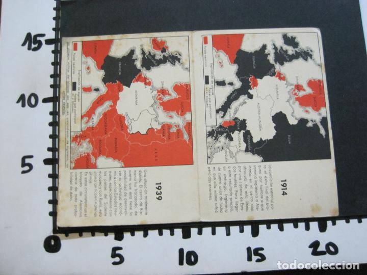 Postales: II GUERRA MUNDIAL-POSTAL DOBLE-MAPAS-VER FOTOS-(73.749) - Foto 5 - 216490266