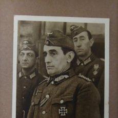 Cartes Postales: POSTAL PROPAGANDA GENERAL MUÑOZ GRANDES HERAUSGEBER DIVISIÓN AZUL 2 GUERRA MUNDIAL. Lote 220950830