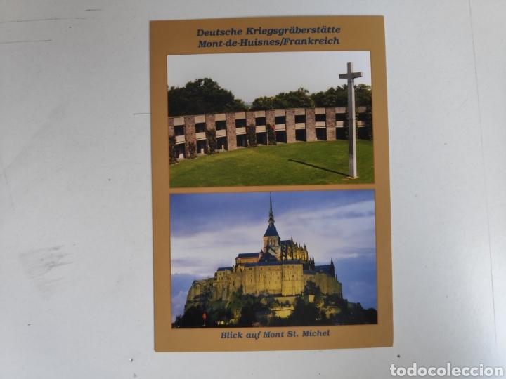 Postales: Folleto Dia-D. Desembarco de Normandia + 3 postales Dia-D, Segunda Guerra Mundial - Foto 6 - 221271133