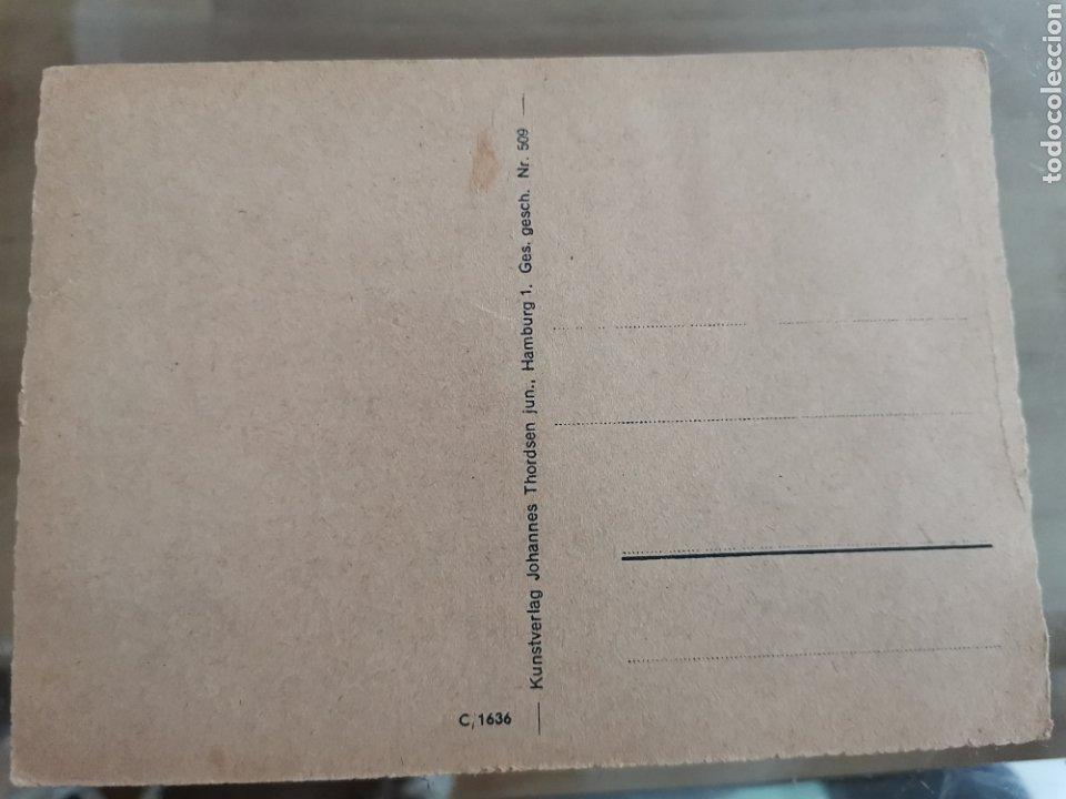 Postales: CN postal alemana segunda guerra mundial. Panzer an der Sowjetfront. PK Kriegsberichter John - Foto 2 - 222347443