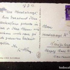 Postales: (JX-201168)POSTAL DEL COMANDANTE MÉDICO DE LA DIVISIÓN AZUL D.LUIS TORRES MARTY DEDICADA.. Lote 224688588