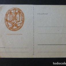 Postales: POSTAL ALEMANA FELDPOST SEGUNDA GUERRA MUNDIAL. Lote 225377525