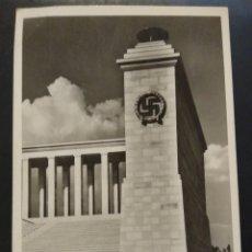 Postales: ZEPPELINFELD, PARTIDO NACIONALISTA NÚREMBERG SEGUNDA GUERRA MUNDIAL. PROPAGANDA NAZI.. Lote 225488967