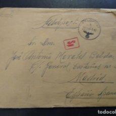 Cartes Postales: CORREO MILITAR ALEMÁN. FELD POST VOLUNTARIO DIVISIÓN AZUL CONSERVA LA CARTA.. Lote 225496586