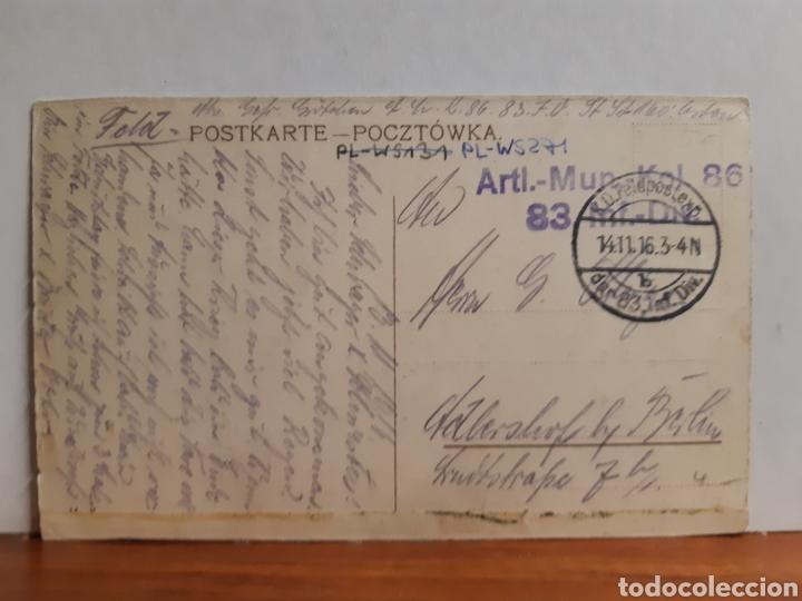 Postales: Antigua postal parece alemana o polaca de la segunda guerra mundial ver foto - Foto 2 - 227233635
