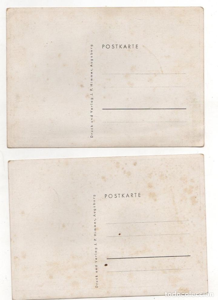 Postales: LOTE DE 2 TARJETAS POSTALES COMICAS II GUERRA MUNDIAL - Foto 2 - 233506600