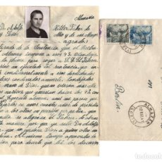 Postales: SORIA. 1941. CARTA DIRIGIDA Á ADOLF HITLER, PETICIÓN INDULTO PARA 43 HOLANDESES CONDENADOS A MUERTE.. Lote 235052680