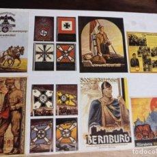 Postales: TARJETÓN CON CARTELES LIBRERIA EUROPA REF. UR EST. Lote 240435075