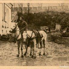 Postales: ORIGINAL - DIVISION AZUL - EN LA ZONA DE COMBATE Y EN LUGARES HISTORICOS - HERAUSGEBER. Lote 242367905