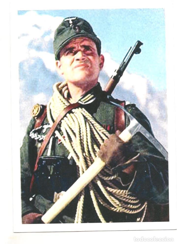 GEBIRSJAGER DIVISIÓN 98 POSTAL REPRODUCCIÓN (Postales - Postales Temáticas - II Guerra Mundial y División Azul)