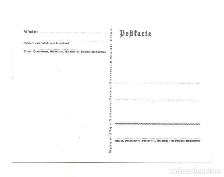 Postales: HITLERJUGEND REICHSPARTEITAG NURNBERG POSTAL REPRODUCCIÓN - Foto 2 - 244660260