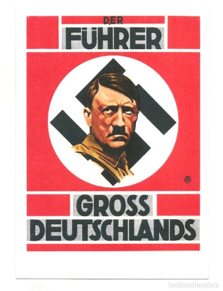 DER FUHRER GROSS DEUTSCHLANDS POSTAL REPRODUCCIÓN (Postales - Postales Temáticas - II Guerra Mundial y División Azul)
