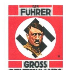 Postales: DER FUHRER GROSS DEUTSCHLANDS POSTAL REPRODUCCIÓN. Lote 244660845
