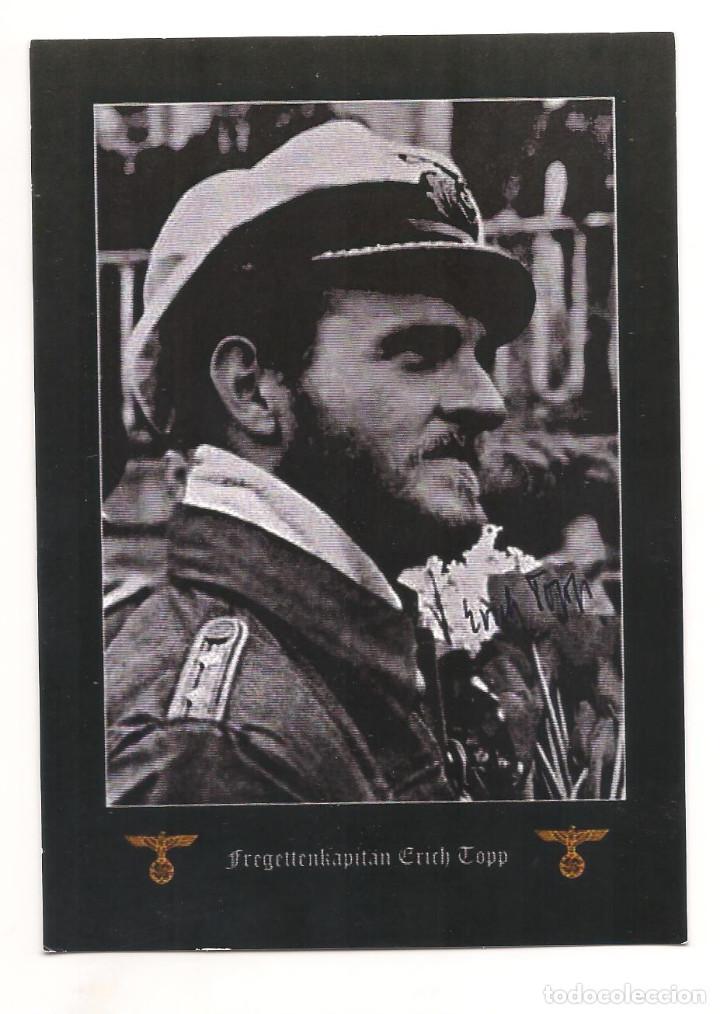 ERICH TOPP POSTAL REPRODUCCIÓN (Postales - Postales Temáticas - II Guerra Mundial y División Azul)