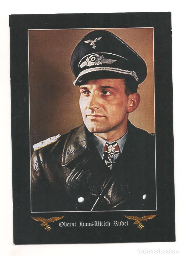 HANS RUDEL POSTAL REPRODUCCIÓN (Postales - Postales Temáticas - II Guerra Mundial y División Azul)