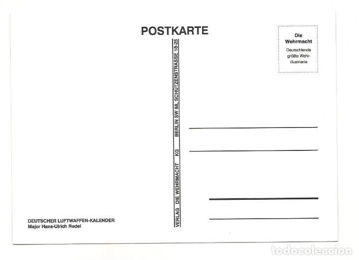 Postales: HANS RUDEL POSTAL REPRODUCCIÓN - Foto 2 - 244662385