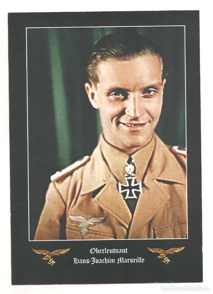 HANS MARSEILLE POSTAL REPRODUCCIÓN (Postales - Postales Temáticas - II Guerra Mundial y División Azul)