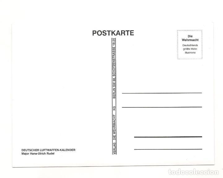 Postales: HANS RUDEL POSTAL REPRODUCCIÓN - Foto 2 - 244662635
