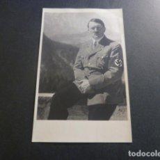 Postales: ADOLF HITLER CON CRUZ DE HIERRO POSTAL FOTOGRAFICA PALOMEQUE MADRID AÑOS 40. Lote 246436755
