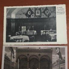 Cartes Postales: NAZISMO ALEMANIA SEGUNDA GUERRA MUNDIAL 2 POSTALES ORIGINALES ANTIGUAS. Lote 246779025