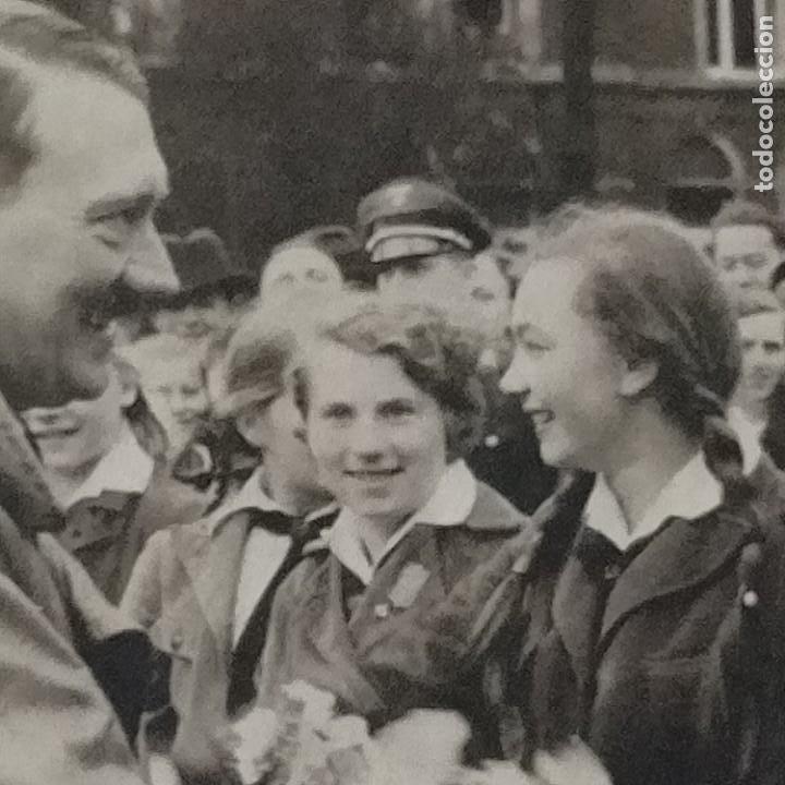 Postales: POSTALES NAZIS SEGUNDA GUERRA MUNDIAL ERFTER SPATENFTICH FEFTPOFTKARTE ZUM REITCHSPARTEITAG - Foto 2 - 248820255