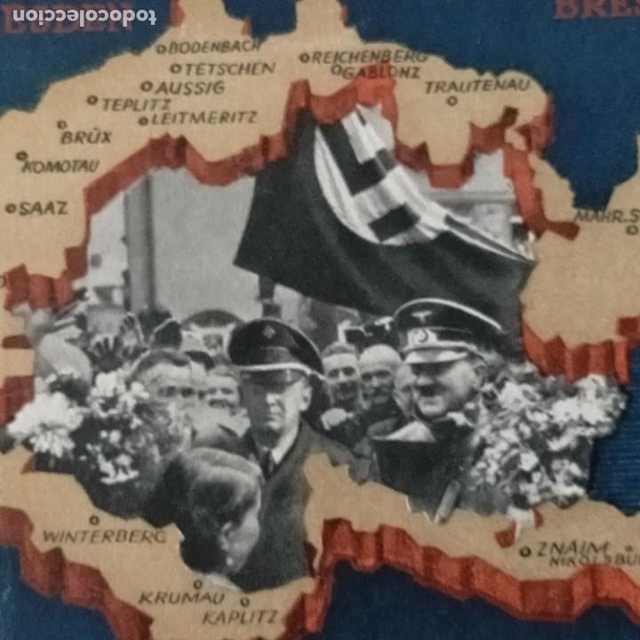 Postales: POSTALES NAZIS SEGUNDA GUERRA MUNDIAL ERFTER SPATENFTICH FEFTPOFTKARTE ZUM REITCHSPARTEITAG - Foto 7 - 248820255
