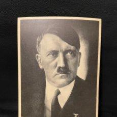 Postales: FOTO POSTAL REICH CANCILLER ADOLF HITLER, NAZI FUHRER NSDAP. Lote 252941440