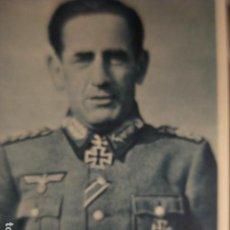 Cartes Postales: DIVISION AZUL EN RUSIA - 2ª GUERRA MUNDIAL - TENIENTE GENERAL MUÑOZ GRANDES AÑOS 1940 - MIRA OTRAS. Lote 257747905
