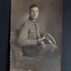 Postales: FOTO POSTAL SOLDADO ALEMAN III REICH - ATELIER O´HARDER HALBERSTADT. Lote 262640655