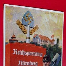 Cartes Postales: ALEMANIA - NAZI - CONGRESO NÚREMBERG - 1937. Lote 267311604