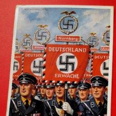 Cartes Postales: ALEMANIA - NAZI - CONGRESO NÚREMBERG - 1937. Lote 267311654