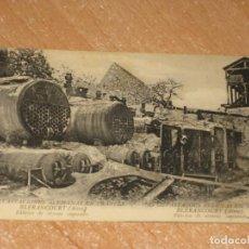 Postales: POSTAL DE LAS DEVASTACIONES ALEMANAS EN FRANCIA. Lote 274578428