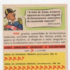 Postales: POSTAL PROPAGANDA II GUERRA MUNDIAL S/C. Lote 275081863