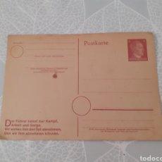 Cartes Postales: TARJETA POSTAL ALEMANA SIN CIRCULAR. HITLER. TERCER REICH.. Lote 275657853