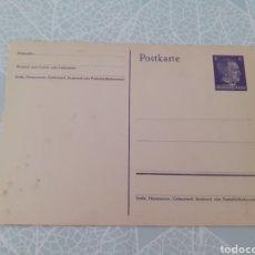 Postales: TARJETA POSTAL ALEMANA SIN CIRCULAR. HITLER. TERCER REICH.. Lote 275658083