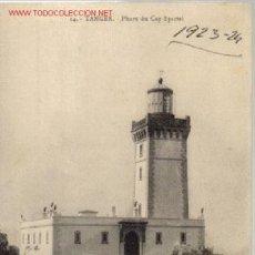 Postales: TARJETA POSTAL DE TANGER Nº14.- PHARE DU CAP SPARTEL.. Lote 17115038