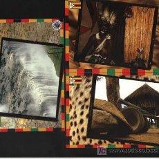Postales: 5 POSTALES - SOBRE ZIMBABWE (VER OTRA IMAGEN EN FOTOS ADICIONALES) SIN ESCRIBIR. Lote 4673191