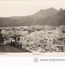 Postales: TETUAN (MARRUECOS)-TARJETA POSTAL Nº3.-VISTA GENERAL. EDIC. ARRIBAS.. Lote 4918384